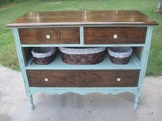 """That's Not Junk...That's My """"New"""" Furniture. Here is my """"$5"""" auction find turned entryway table"""