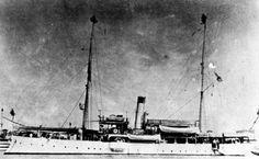 USS Elcano somewhere in China. Courtesy U.S. Warships of World War I.