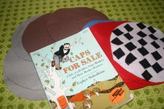 Caps For Sale! Felt caps to go along with the story. It makes of a great re-telling for the children!
