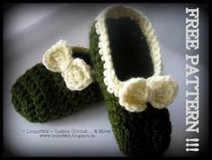 Super Simple Slippers ~ for adults ~ FREE PATTERN