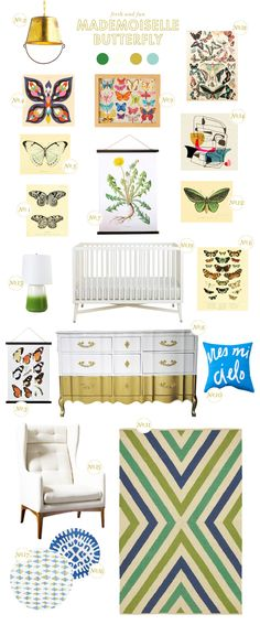 butterfly baby nursery inspiration
