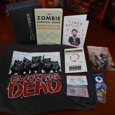 Loot Crate October Box: Survive
