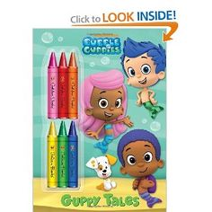 Guppy Tales (Bubble Guppies) (Deluxe Chunky Crayon Book): Golden Books: 9780307976703: Amazon.com: Books-party favors