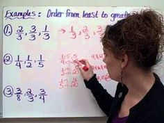 Ordering Fractions-Christine Munafos Flipped Classroom-4th grade STEM