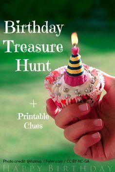 Birthday Treasure Hunt