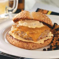 Bayou Burgers with Spicy Remoulade Recipe from Taste of Home