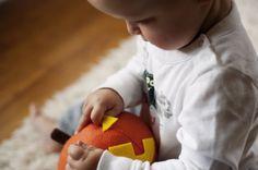 DIY Felt Pumpkin Toy by rustsunshine #DIY #Pumpkin #Puzzle
