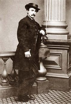 John Wilkes Booth, the Abraham Lincoln Assassin.