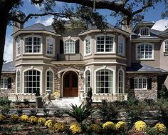 Plan W63145HD: Premium Collection, European, Photo Gallery, Luxury House Plans & Home Designs