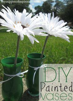 #diy decor #howto #vase #home #decor #flower
