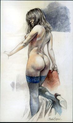 Druuna: by Paolo Eleuteri Serpieri Comic Art draw, paolo serpieri, paolo eleuteri, ero art, drunna, eleuteri serpieri, erot comic, comic art, druuna