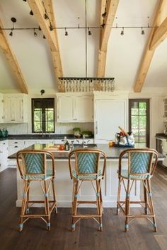 Upstate New York Weekend Home - traditional - kitchen - new york - jamesthomas, LLC