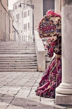 Carnaval de las mascaras en Venecia. Opulencia y Magnificencia!