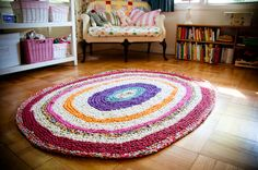 Crochet Rag Rug-4 Can't wait to try this.