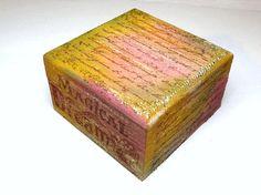 Magical Rainbow of Dreams Keepsake Box Sparkly by missbohemia, $10.00