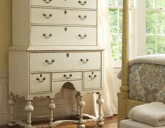 decor, highboy, armoir, bays, paint furnitur, williamsburg, dressers, cottage design, bedrooms