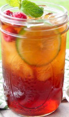Spiked Raspberry Sweet Tea