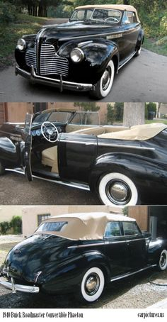 1940 Buick Roadmaster Convertible Phaeton. http://carpictures.us