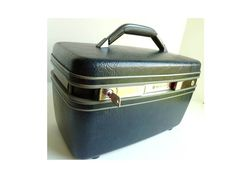 Vintage Somsonite Train Travel Case by ClearlyRustic on Etsy, $35.00