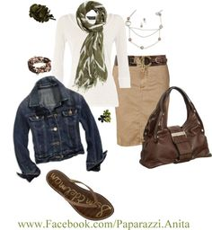 Come on Spring!!  Such a BEAUTIFUL outfit to wear to work then dress down with the jacket for the evening.