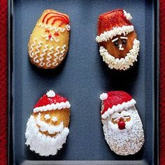 Day One: Santa Madeleines #25DaysOfChristmasCookies
