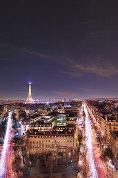 Paris, France by Erik Sanders-