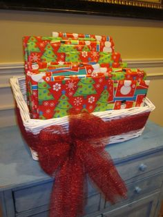 Christmas countdown. Wrap a book to read each night as a family until Christmas. A great way to promote reading and to count down. We have always read a book each night...this year we wrapped them all & are opening one each night...much more fun!