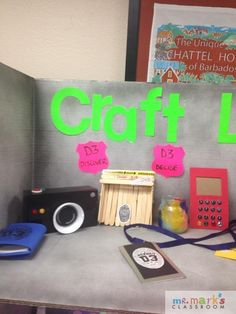 Here are some terrific VBS decoration ideas for the Craft Lab. Thanks
