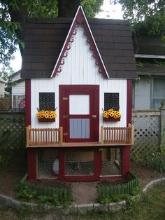 Adorable chicken coop!