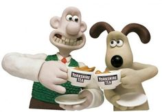 Yorkshire tea with Wallace & Gromit
