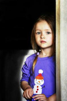 Ukrainian child model Nika Bondarchuk