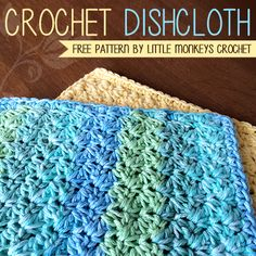 Crochet Dishcloth « The Yarn Box
