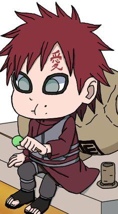 :) No one eats dango like Gaara!