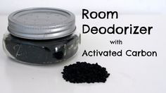 Room Deodorizer with Activated Carbon ● PINtober #7