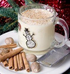 Merry Christmas Greetings: Homemade Eggnog Recipe