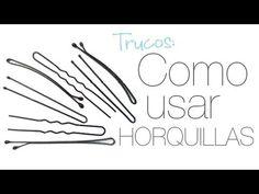 ¿Cómo usar las horquillas? - Peinados Magazine Tutorial