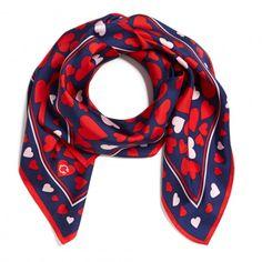 Cute heart scarf