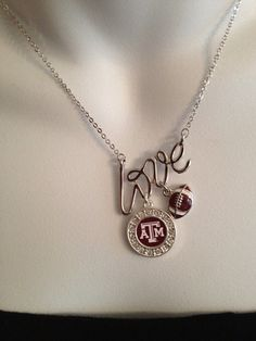 Texas Aggie necklace