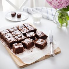 For coffee lovers - Chocolate & Espresso brownies!