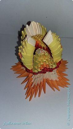 Мастер-класс Оригами модульное: Северный Олень Бумага. Фото 1 Origami Pinterest Instrukce