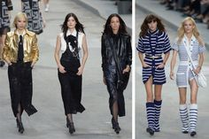 Karl Lagerfeld Stages Feminist Rally at Chanel Spring 2015