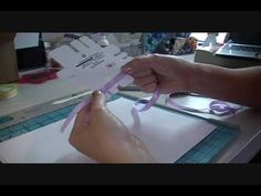"Bow Easy Tutorial - video demo showing how easy, quick & fun it is to make perfect bows using the ""Bow Easy"" how to use bow easy, bow easi, bow making"