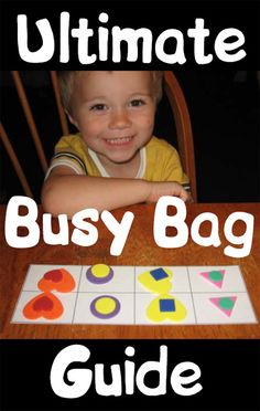 Ultimate Guide to Preschool Busy Bags