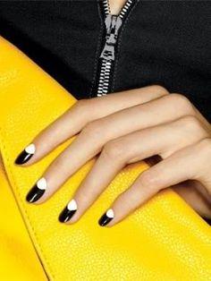 Half-Moon Nails