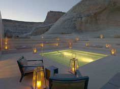 Amangiri resort in Utah