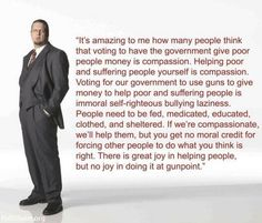 food for thought, guns, truth, penn jillett, helping people, true words, polit, quot, common sense