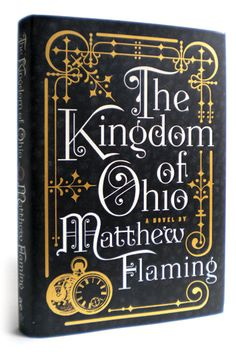 Kingdom of Ohio #bookcover #typography #design