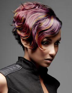 punk hair highlights ideas