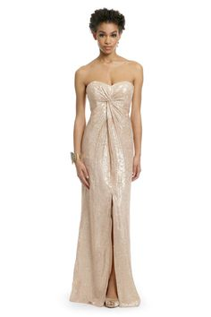 Trina Turk Twilight Shimmer Gown Rent the Runway $80