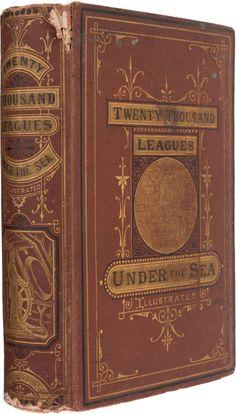 Twenty Thousand Leagues Under the Seas. Boston:James R. Osgood, 1873.